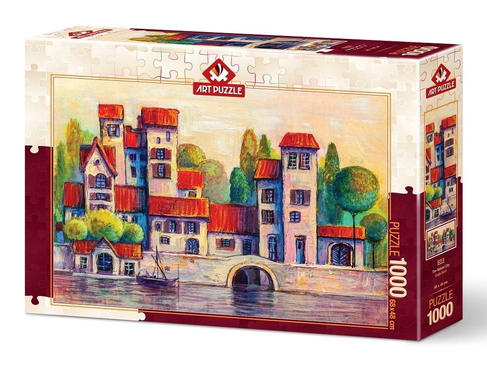 Puzzle Art Puzzle Ciudad Natural de 1000 Piezas