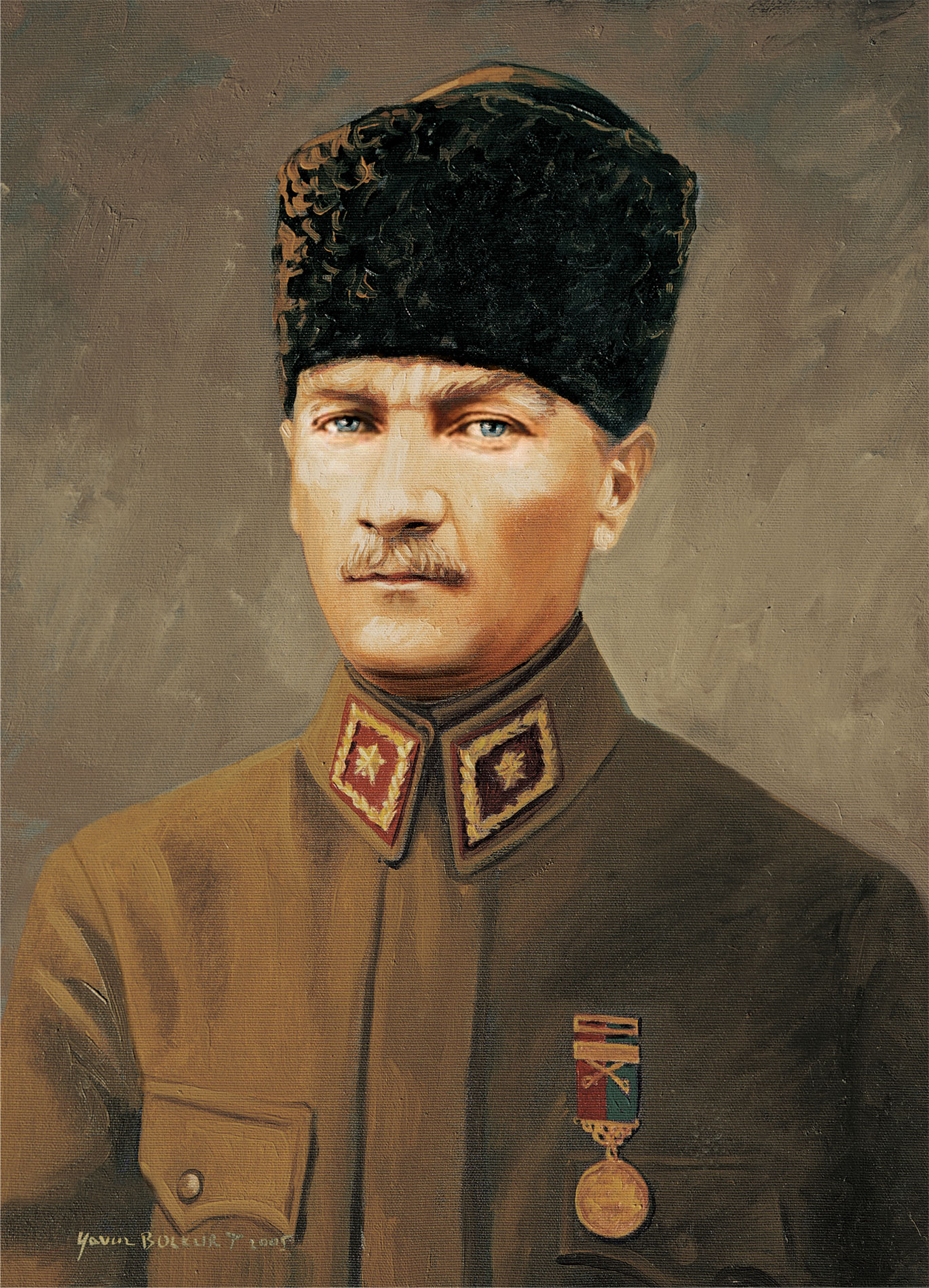 Puzzle Art Puzzle Comandante Alemán Ghazi Mustafa Kemal Atatürk