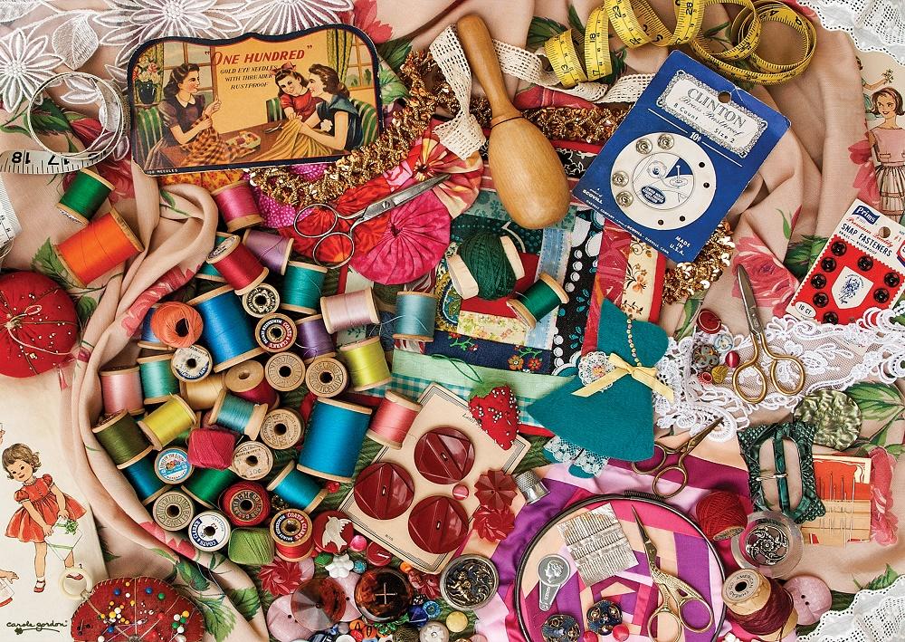 Puzzle Art Puzzle Costurero de Recuerdo de 1000 Piezas