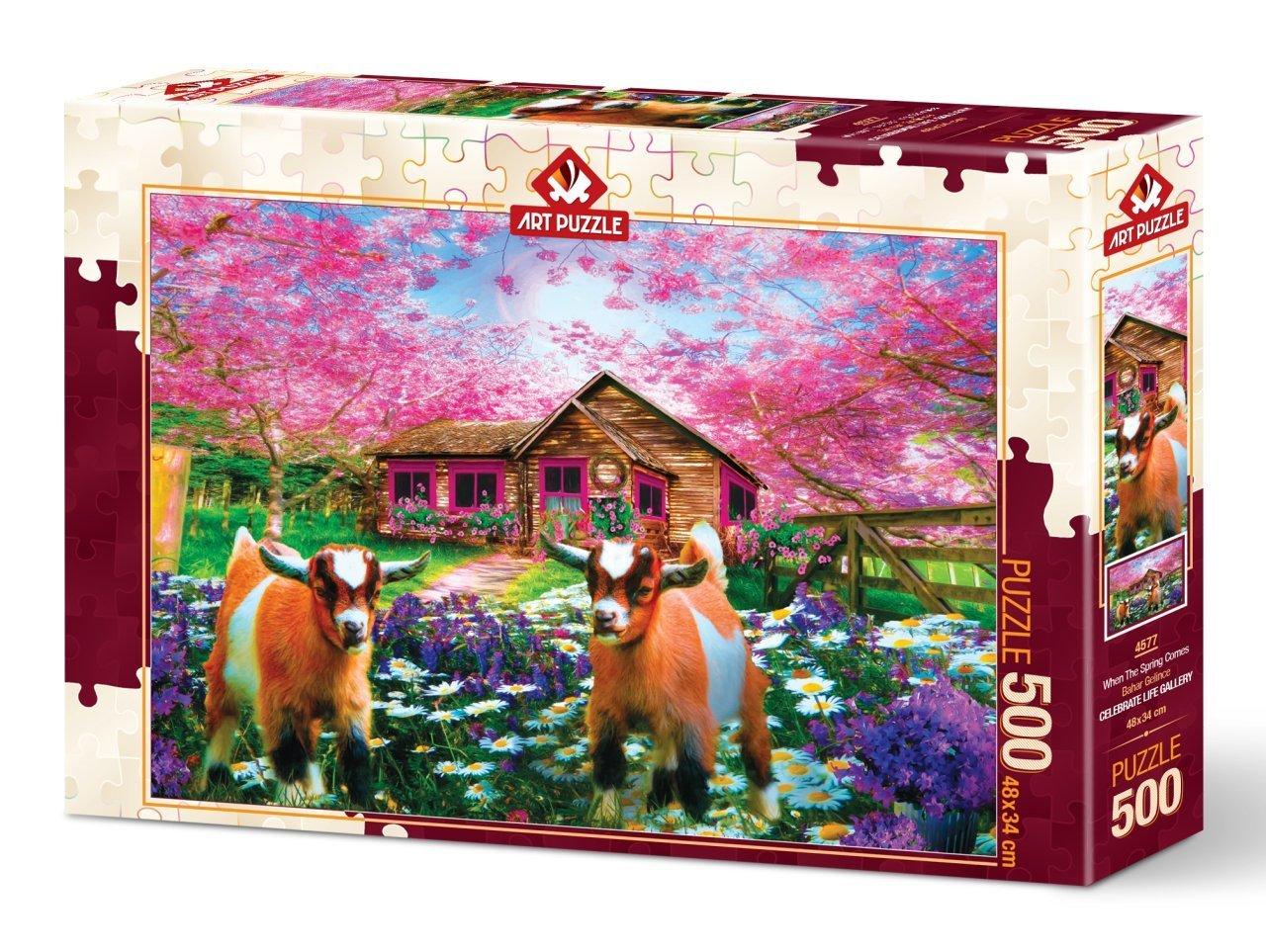 Puzzle Art Puzzle Cuando la Primavera Llega de 500 Piezas