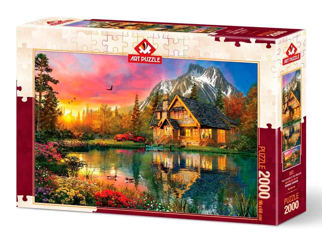 Puzzle Art Puzzle Cuatro Estaciones En Un Momento de 2000 Piezas