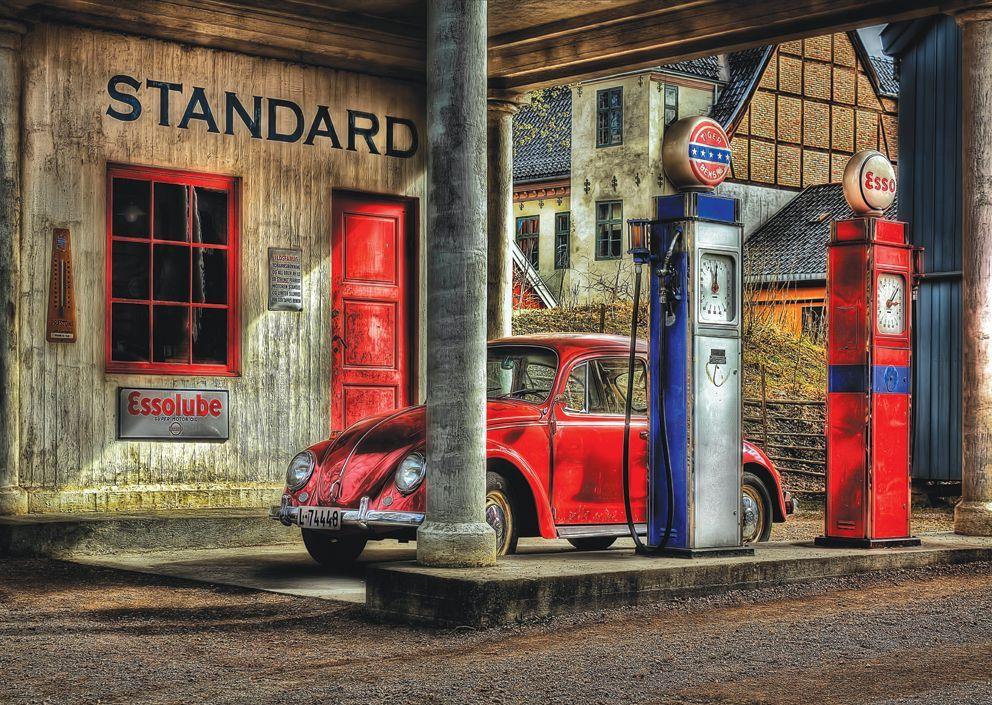 Puzzle Art Puzzle de Madera La Gasolinera de 1000 Piezas