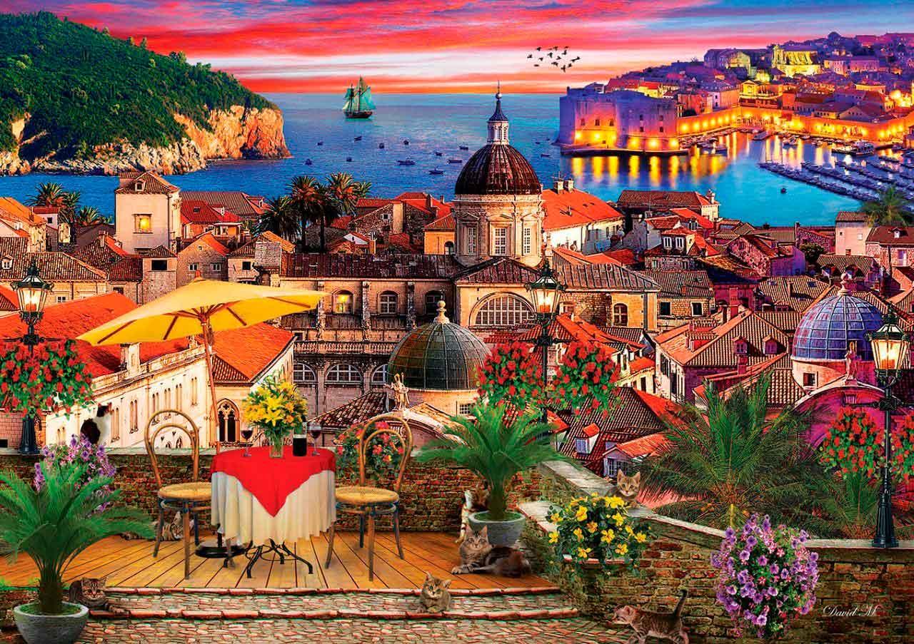 Puzzle Art Puzzle Dubrovnik de 1000 Piezas