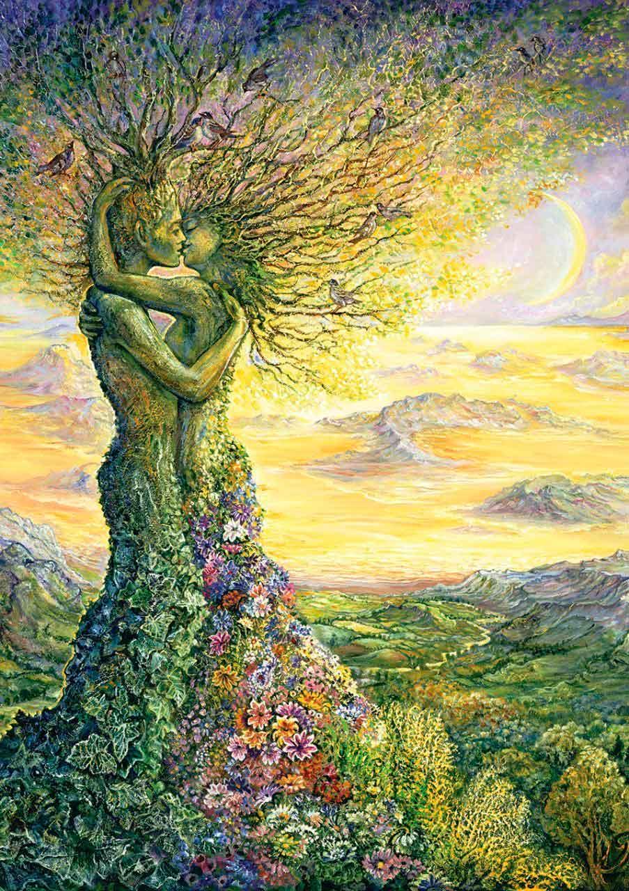 Puzzle Art Puzzle El Amor de la Naturaleza de 1000 Piezas