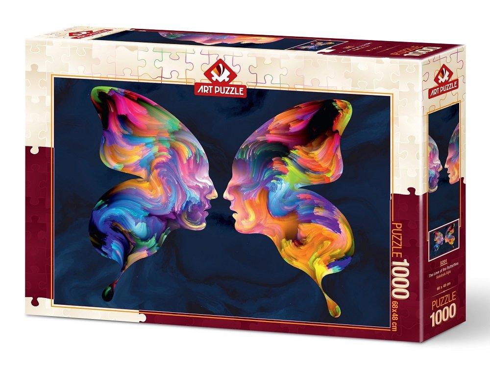 Puzzle Art Puzzle El Amor de las Mariposas de 1000 Piezas