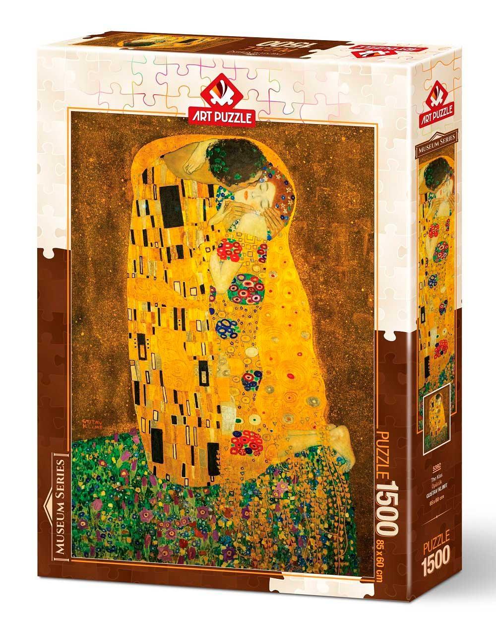 Puzzle Art Puzzle El Beso de 1500 Piezas