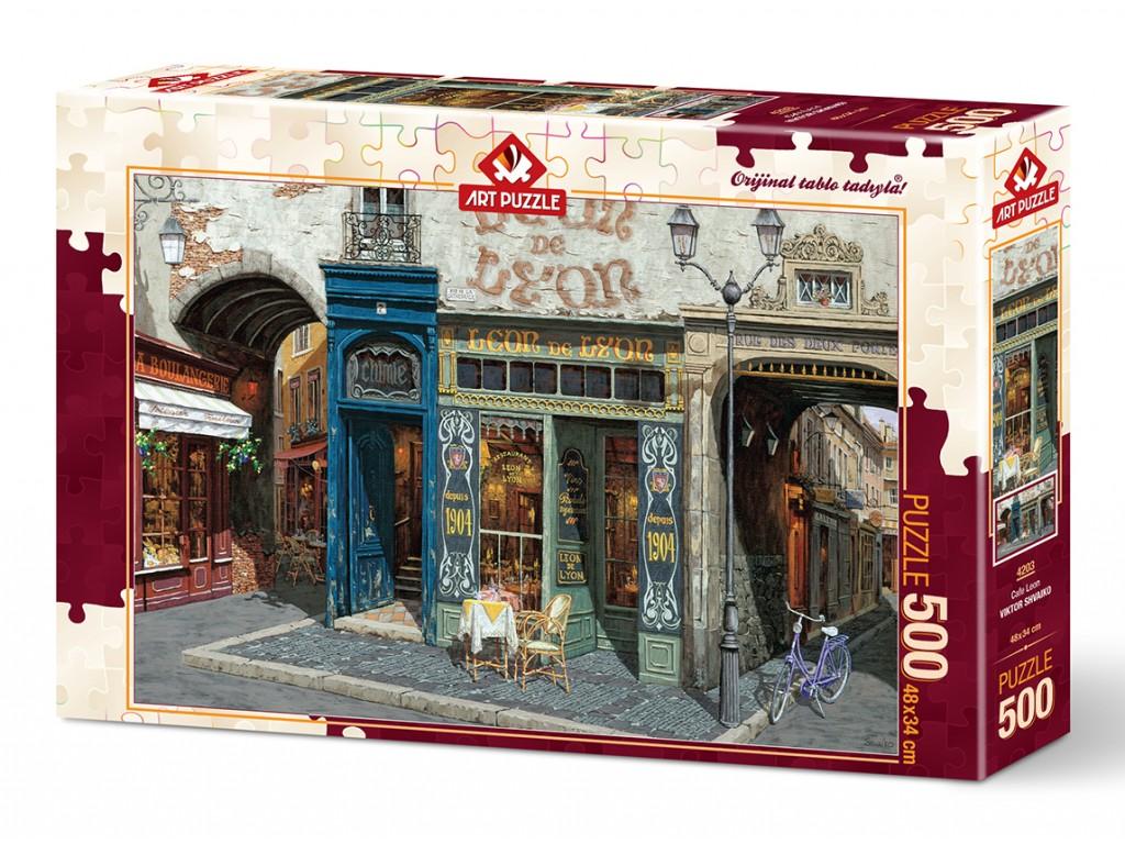 Puzzle Art Puzzle El Café León de 500 Piezas