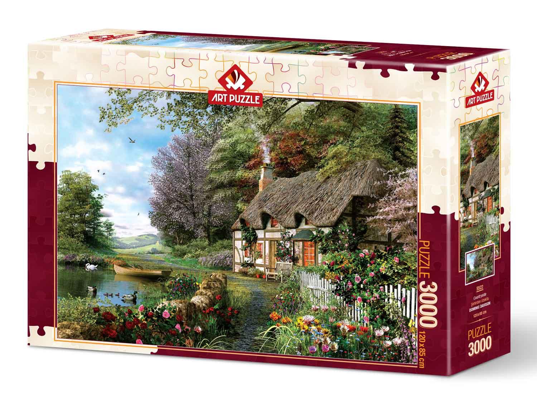 Puzzle Art Puzzle Paisaje Campestre de 3000 Piezas
