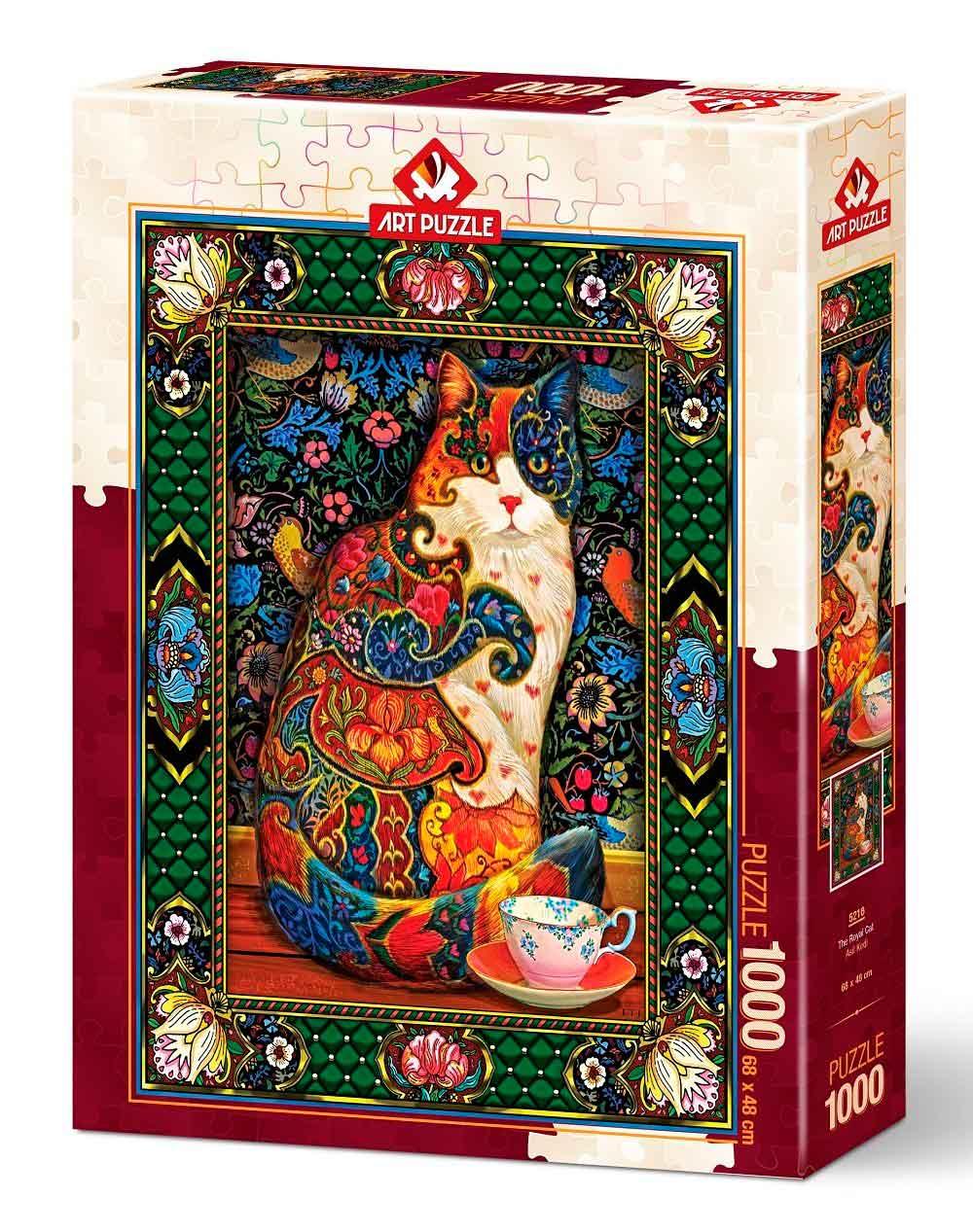 Puzzle Art Puzzle El Gato Real de 1000 Piezas