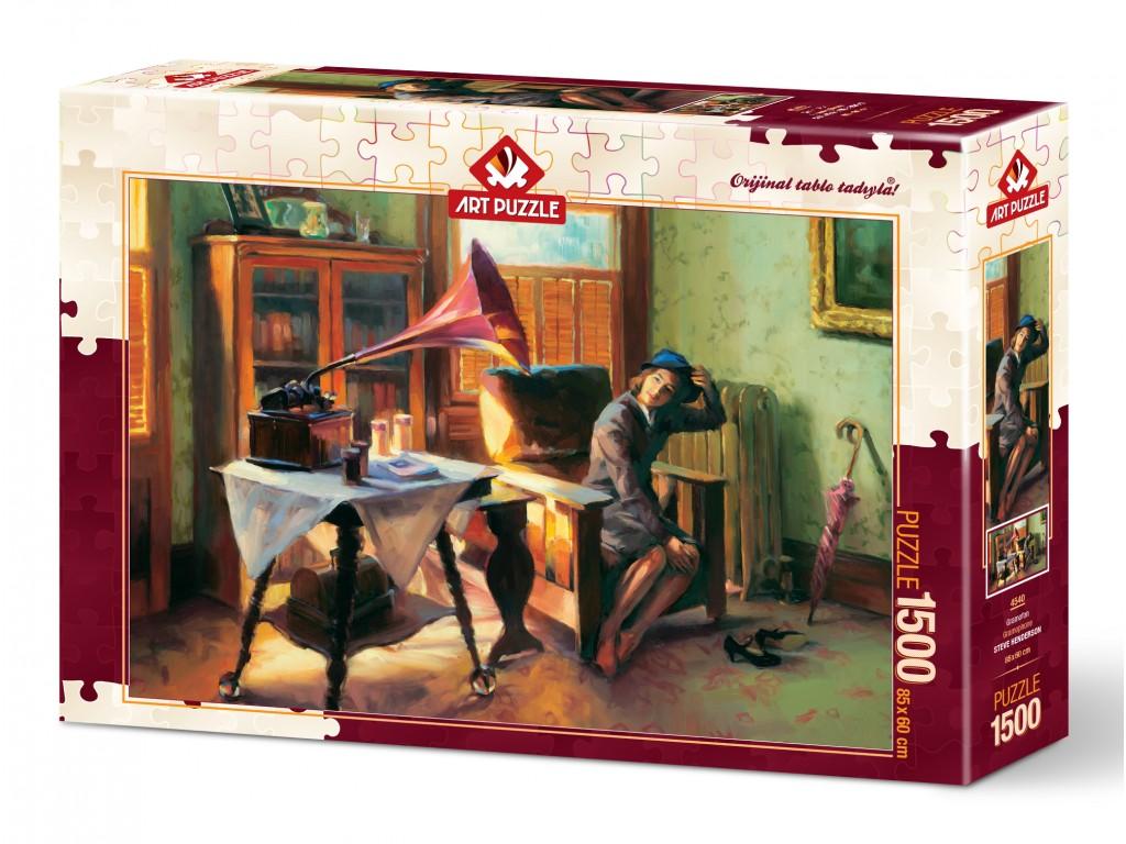 Puzzle Art Puzzle El Gramófono de 1500 Piezas