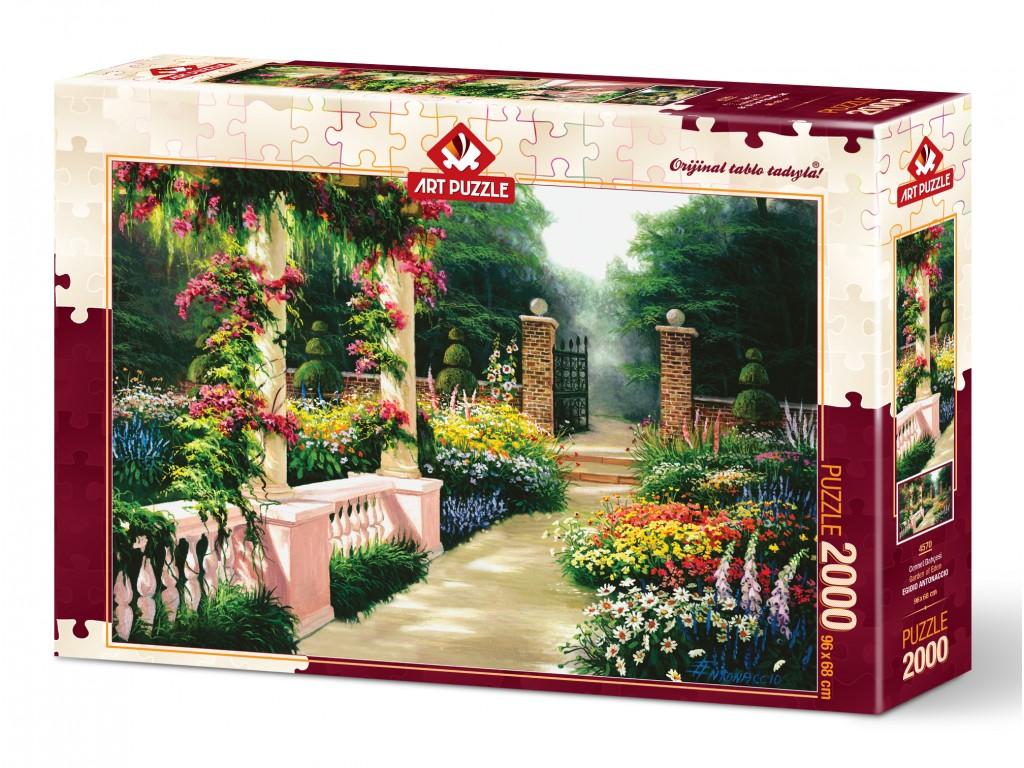 Puzzle Art Puzzle El Jardín del Edén de 2000 Piezas