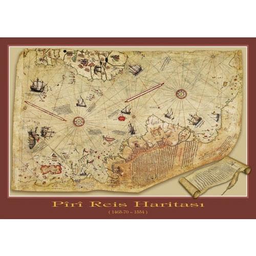 Puzzle Art Puzzle El Mapa de Piri Reis de 1000 Piezas
