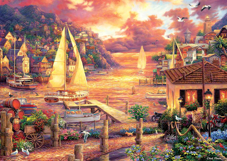 Puzzle Art Puzzle El Mar Dorado de 3000 Piezas
