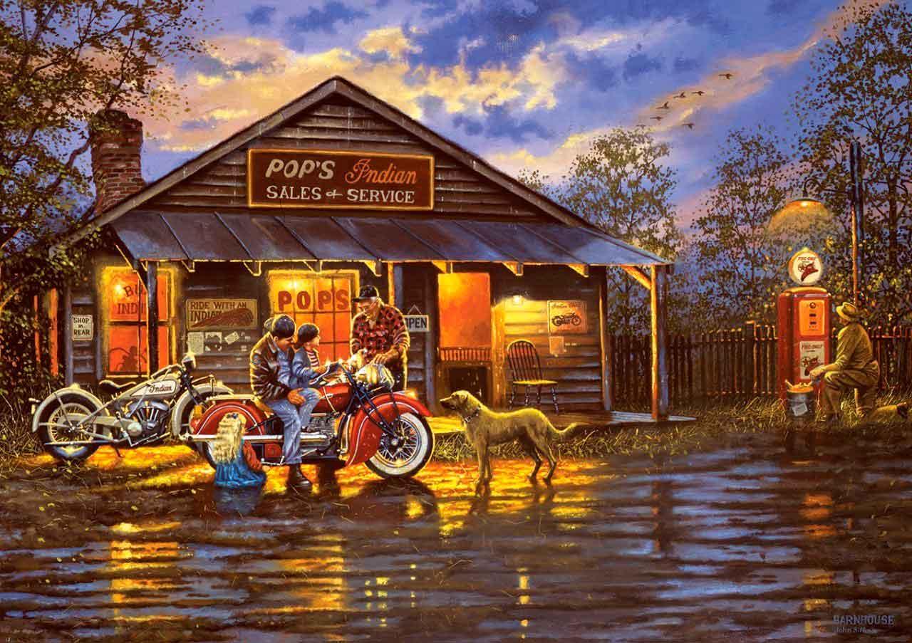 Puzzle Art Puzzle El Motociclista de 1000 Piezas