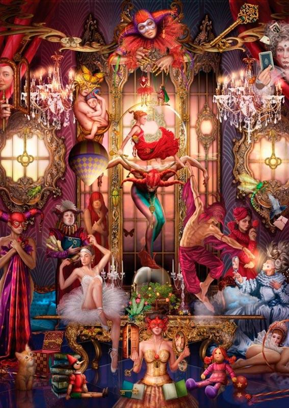 Puzzle Art Puzzle El Oráculo 1000 Piezas