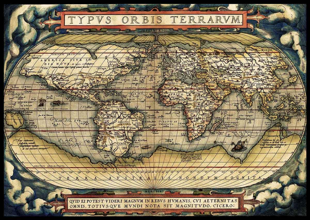 Puzzle Art Puzzle El Primer Atlas Moderno, 1570 de 3000 Piezas