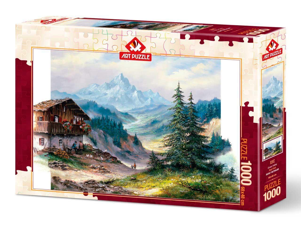Puzzle Art Puzzle El Valle Verde de 1000 Piezas
