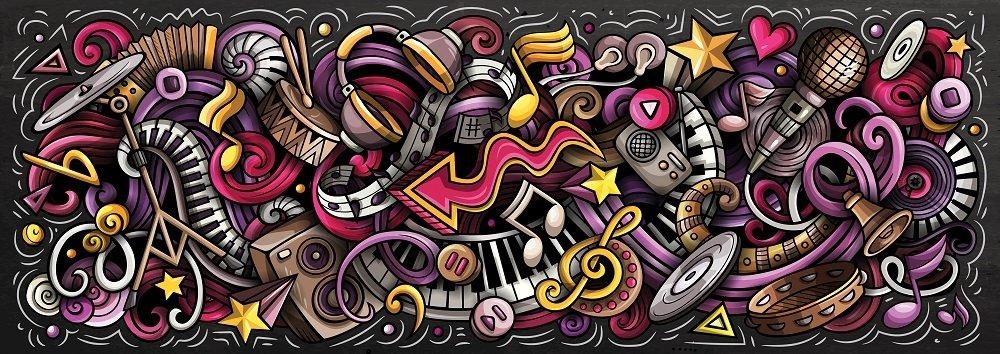 Puzzle Art Puzzle Elementos del Ritmo Panorámico de 1000 Pzs