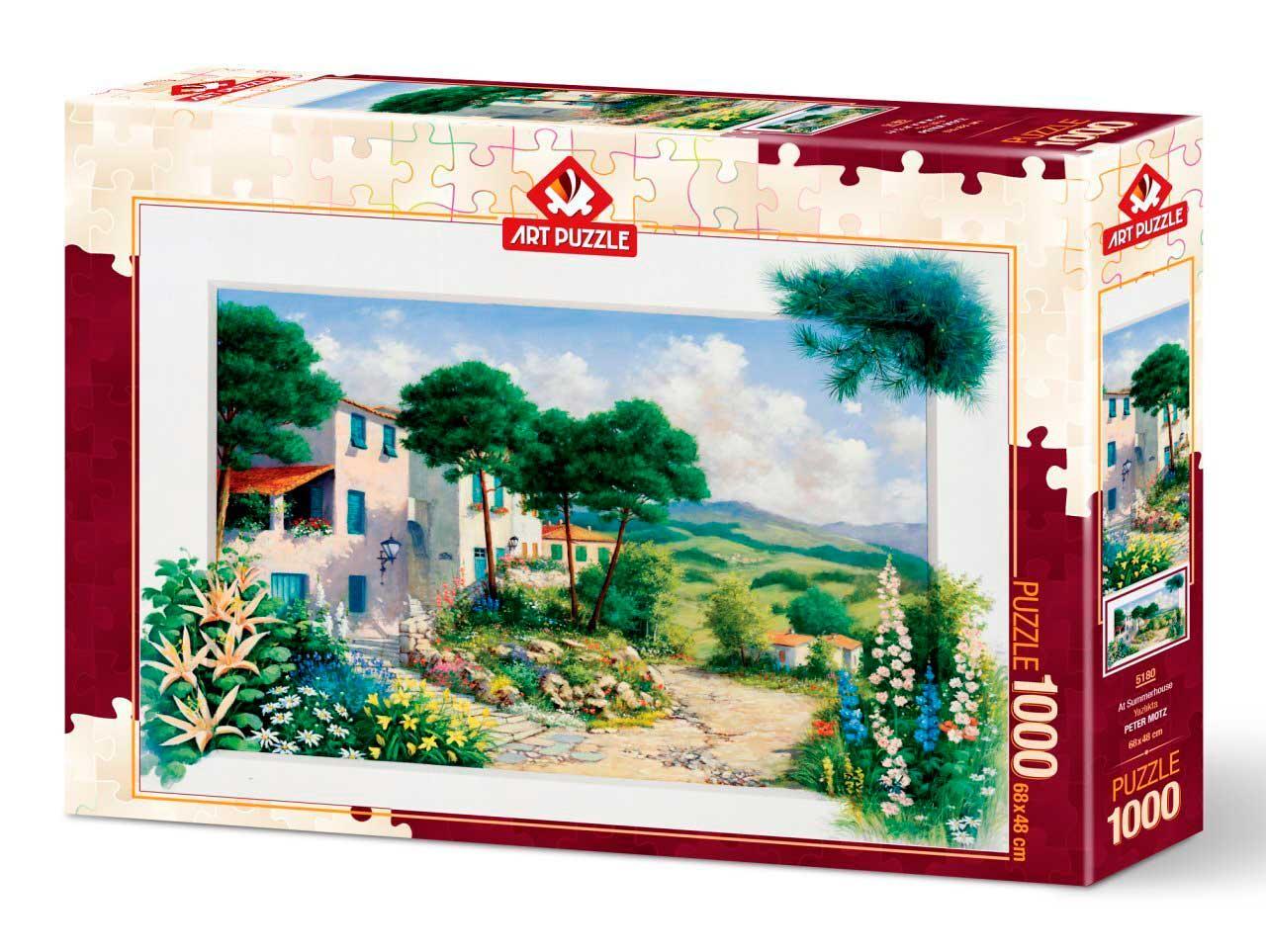 Puzzle Art Puzzle En La Casa de Verano de 1000 Piezas