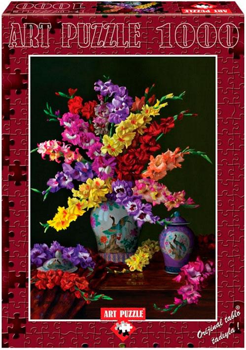 Puzzle Art Puzzle Flores de colores 1000 Piezas