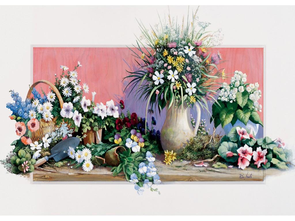 Puzzle Art Puzzle Flores de Primavera de 500 Piezas