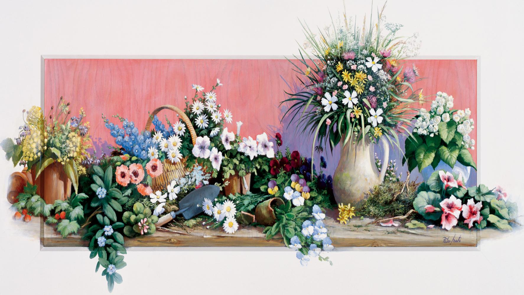 Puzzle Art Puzzle Flores del Jardín de 1000 Piezas