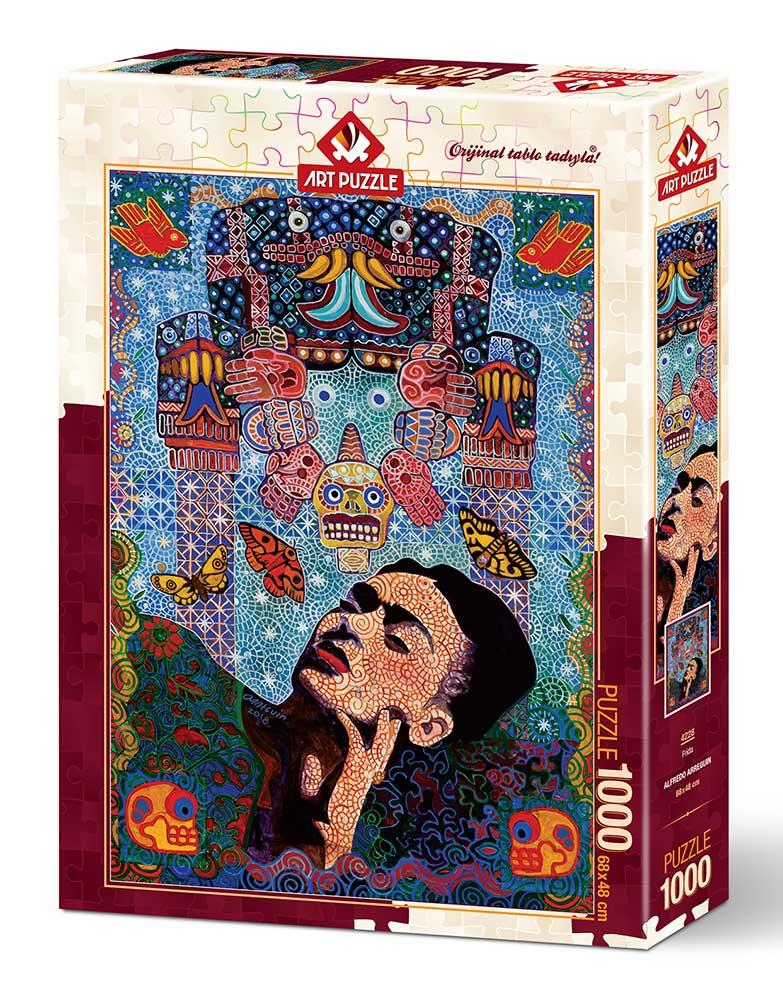 Puzzle Art Puzzle Frida Khalo de 1000 Piezas