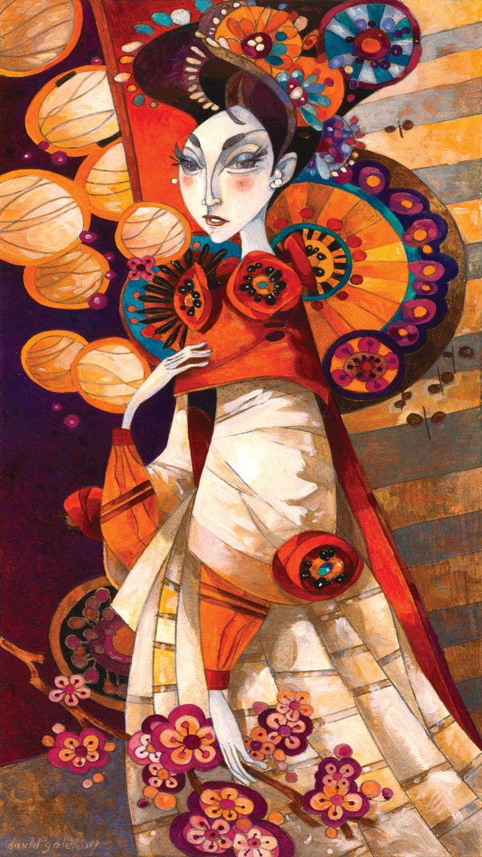 Puzzle Art Puzzle Geisha Súbita de 1000 Piezas
