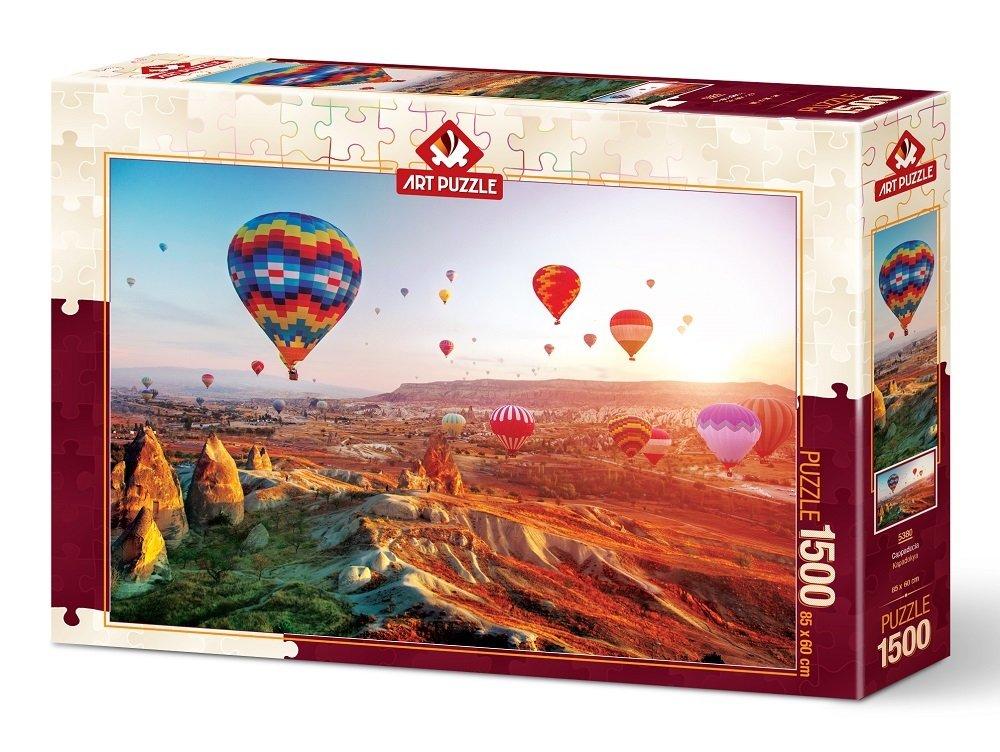 Puzzle Art Puzzle Globos En La Capadocia de 1500 Piezas