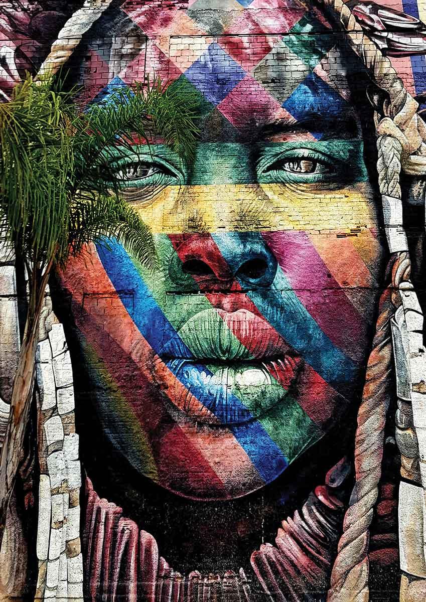 Puzzle Art Puzzle Grafitti, Sao Paulo de 260 Piezas
