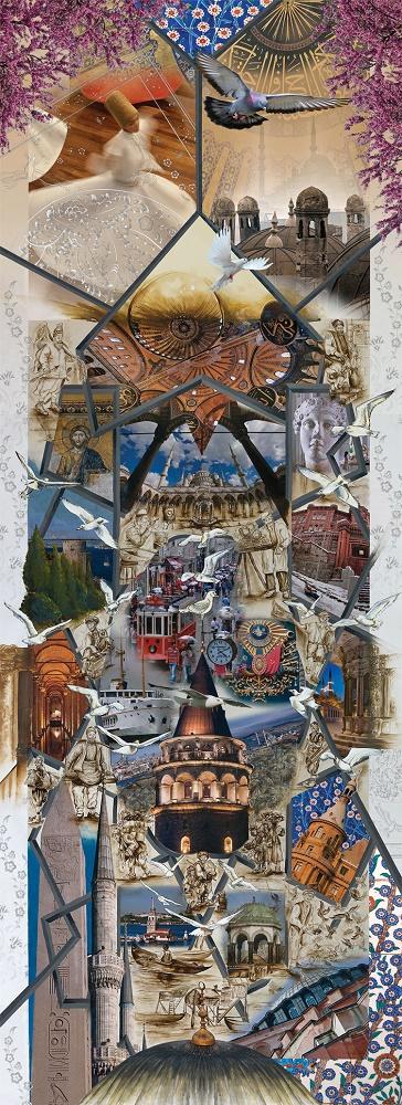 Puzzle Art Puzzle Historia de Estambul de 1000 Piezas
