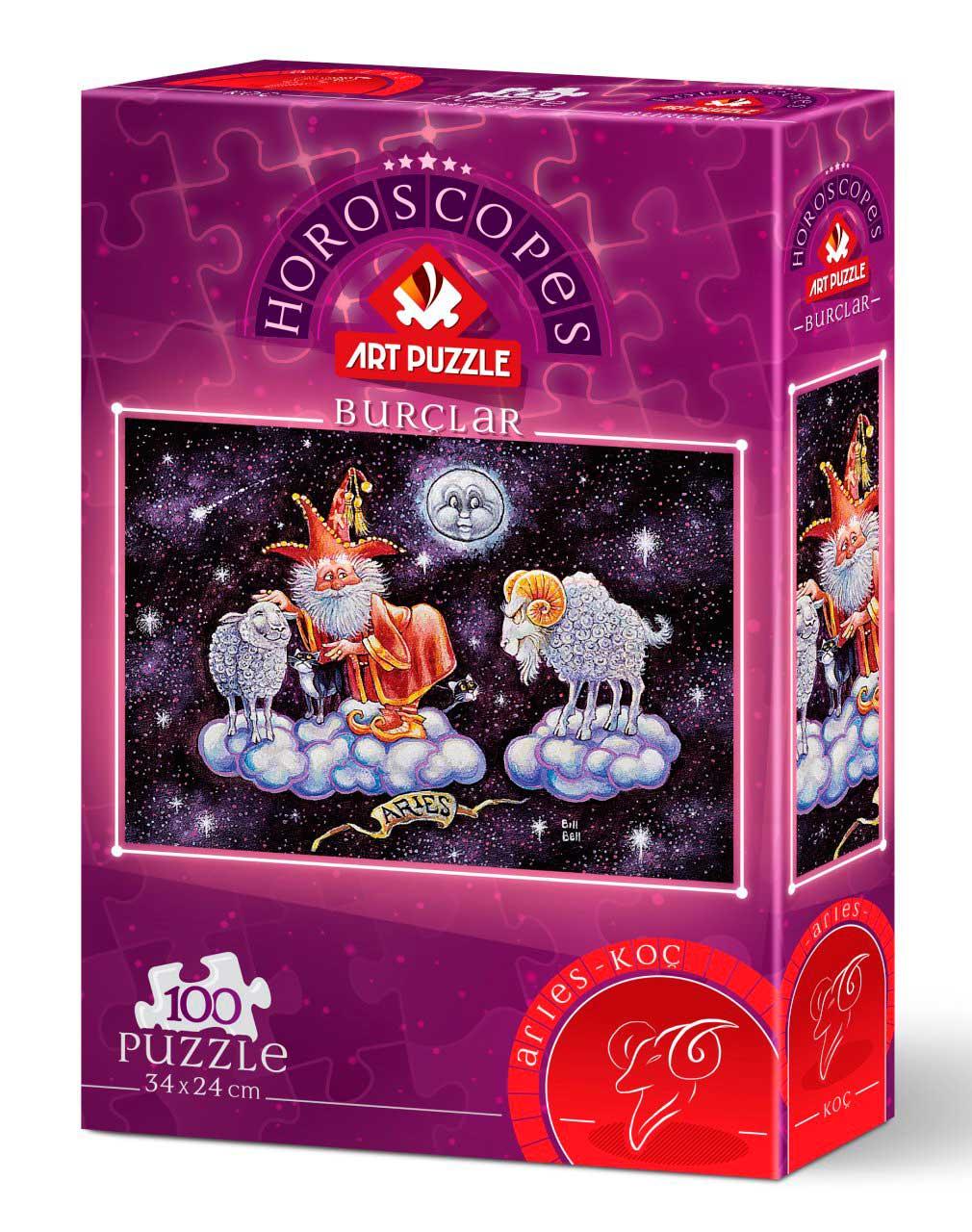 Puzzle Art Puzzle Horóscopo Aries de 100 Piezas