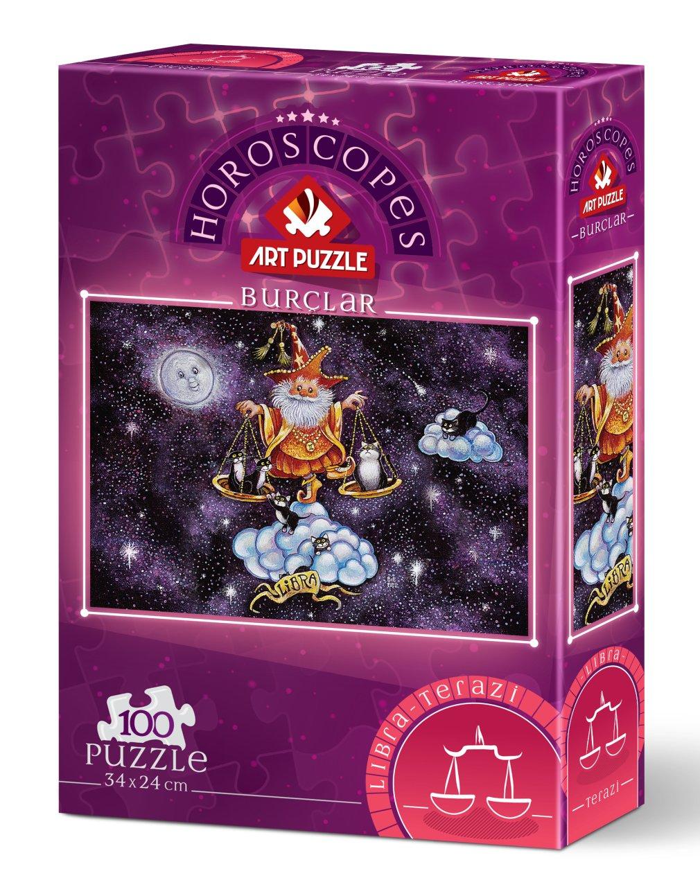 Puzzle Art Puzzle Horóscopo Libra de 100 Piezas
