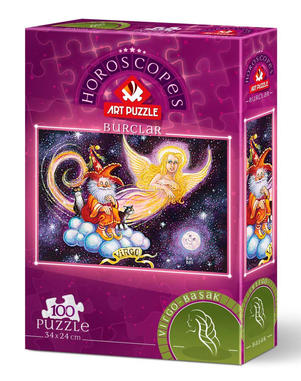 Puzzle Art Puzzle Horóscopo Virgo de 100 Piezas