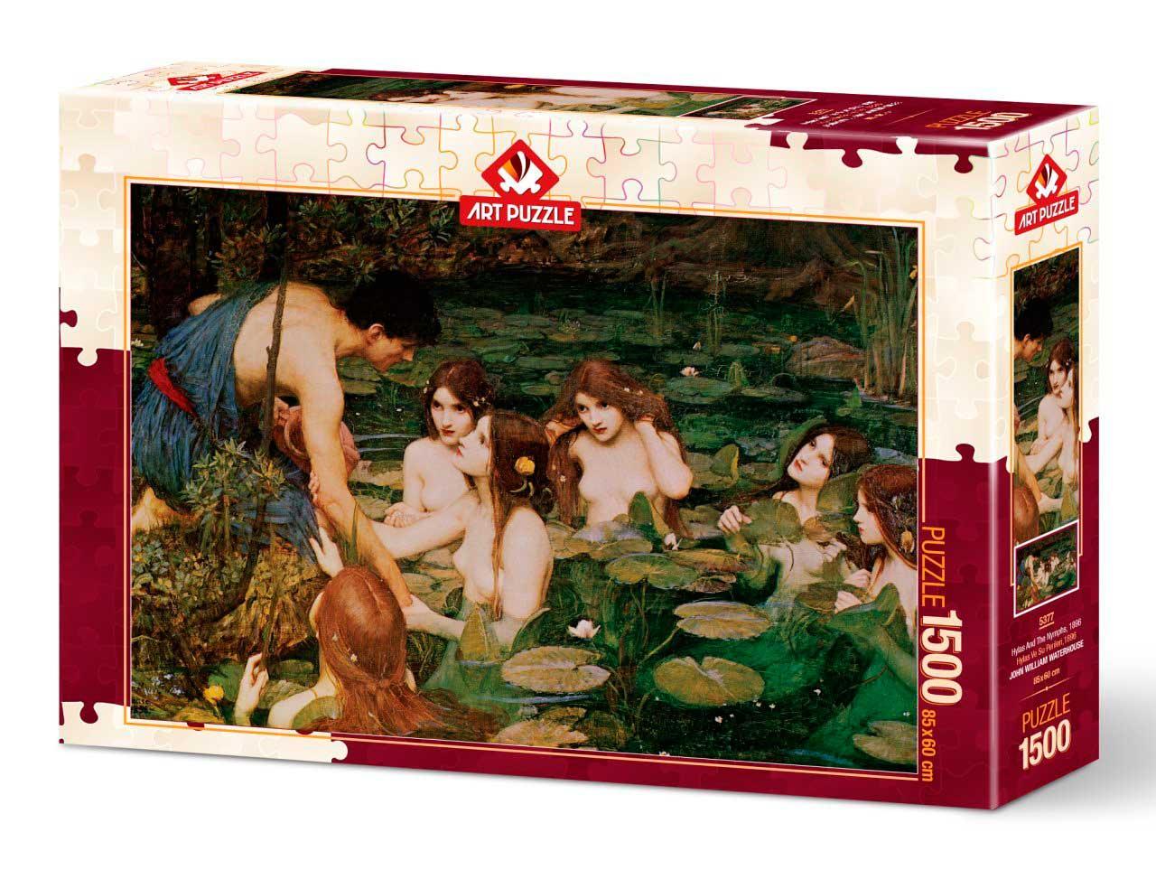Puzzle Art Puzzle Hilas y Las Ninfas de 1500 Piezas