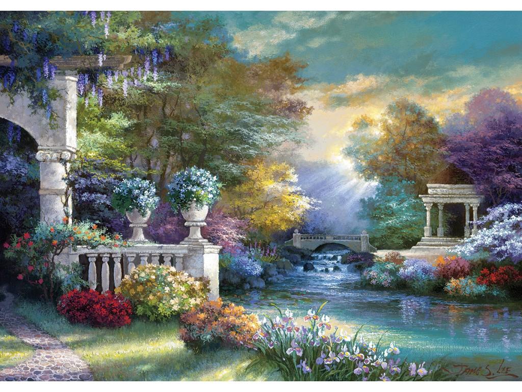 Puzzle Art Puzzle Jardín de los Sueños de 1500 Piezas