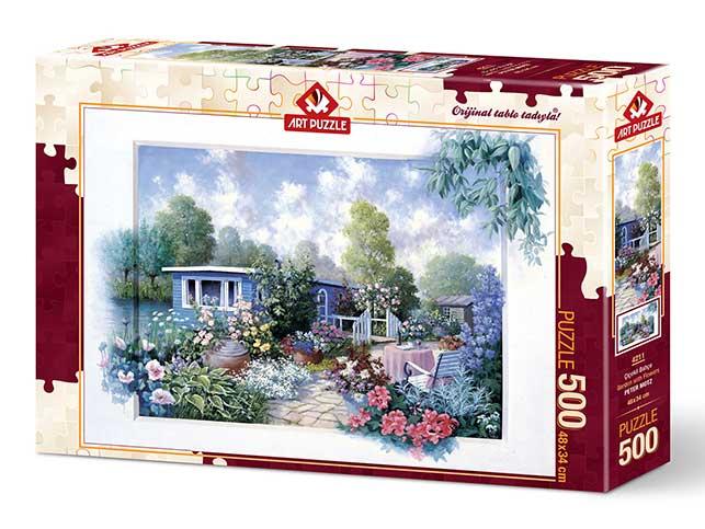 Puzzle Art Puzzle Jardín Lleno de Flores de 500 Piezas