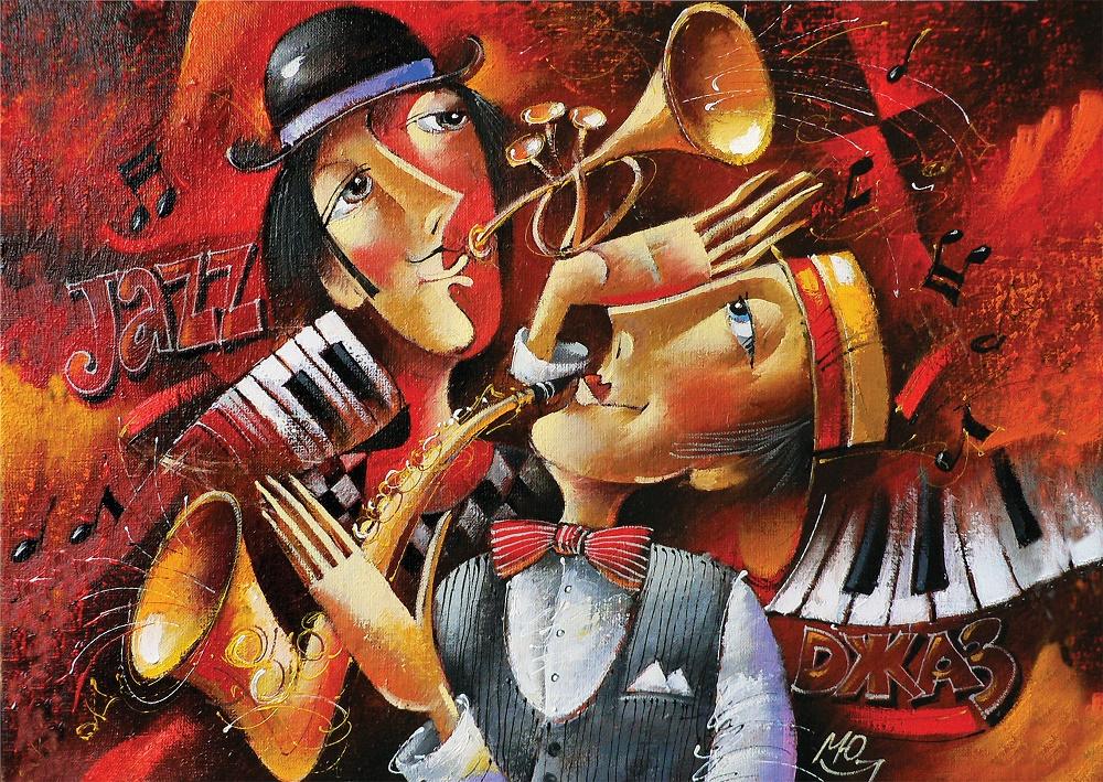 Puzzle Art Puzzle Jazz de 1000 Piezas