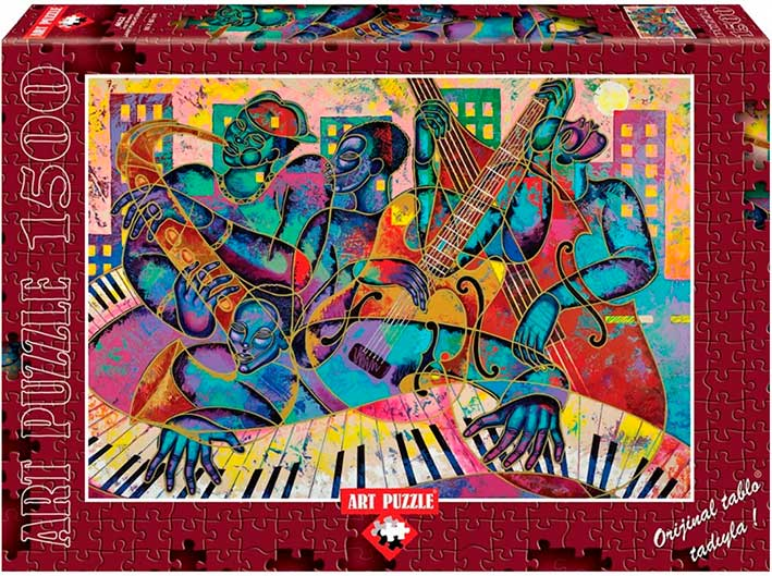 Puzzle Art Puzzle Jazz Moderno de 1500 Piezas