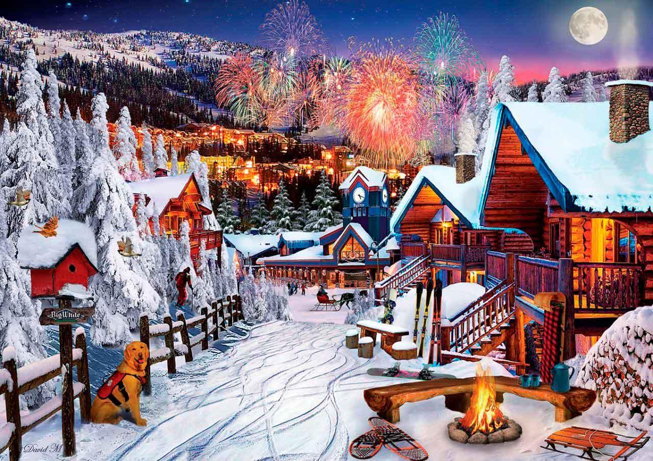 Puzzle Art Puzzle Juegos de Invierno de 1000 Piezas
