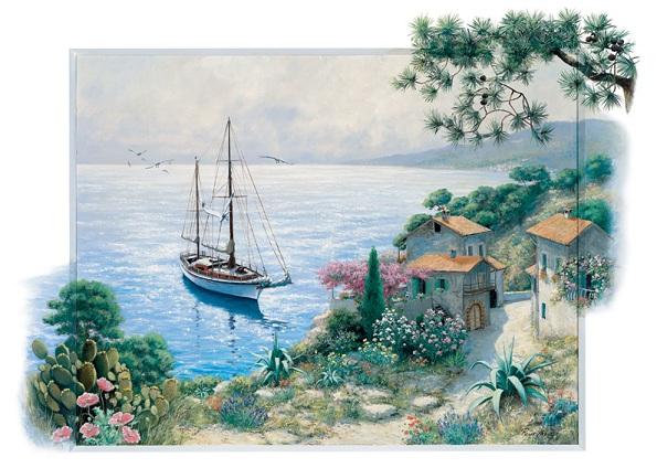 Puzzle Art Puzzle La Bahía de 1500 Piezas