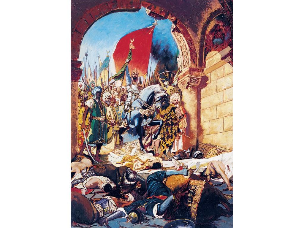 Puzzle Art Puzzle La Conquista de Estambul, 1453 de 1000 Piezas