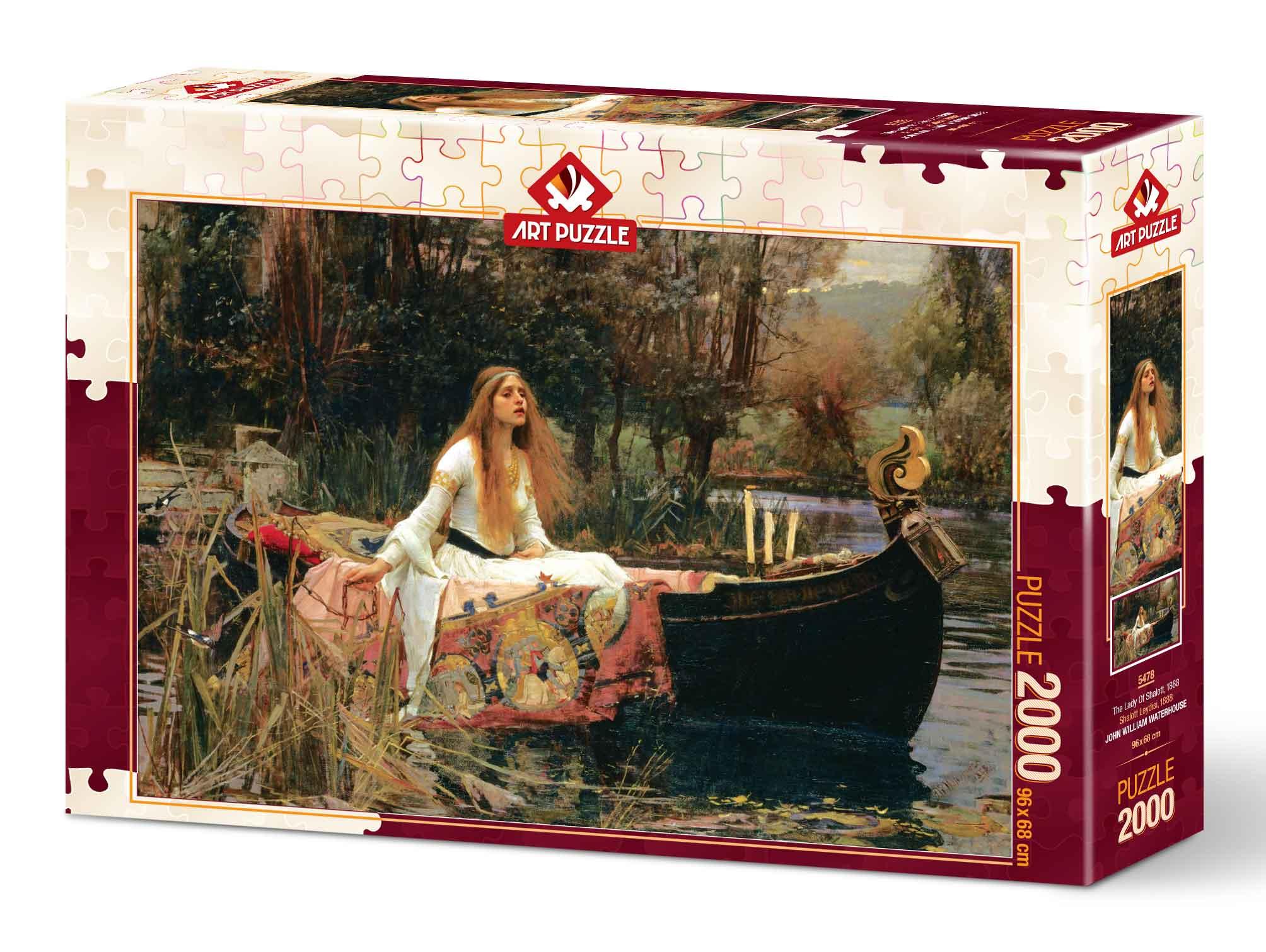 Puzzle Art Puzzle La Dama de Shalott de 2000 Piezas