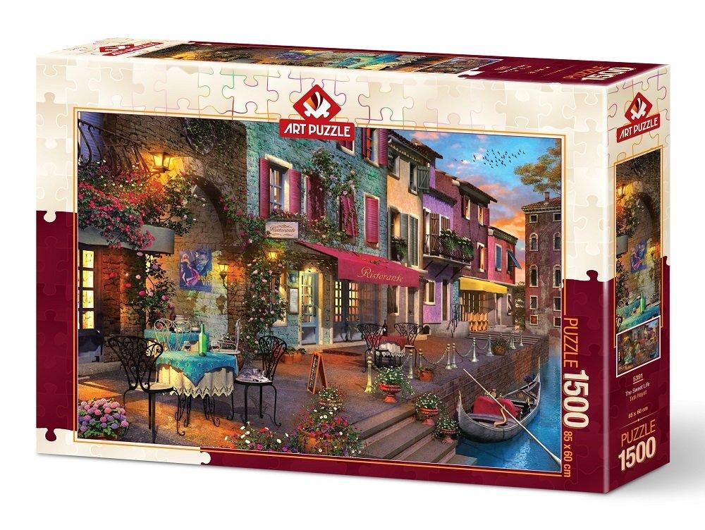 Puzzle Art Puzzle La Dulce Vida de 1500 Piezas