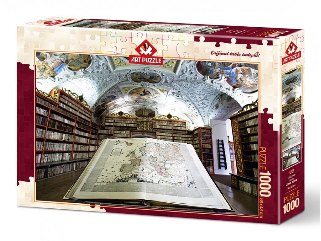 Puzzle Art Puzzle La Librería de 1000 Piezas