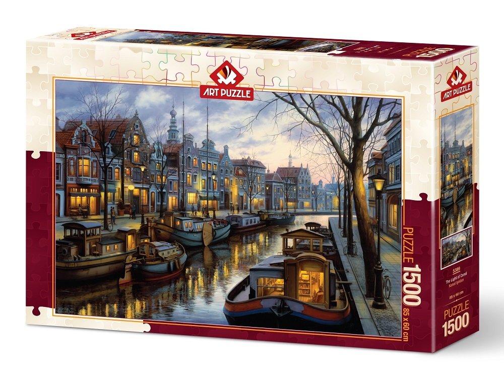 Puzzle Art Puzzle La Luz del Canal de 1500 Piezas