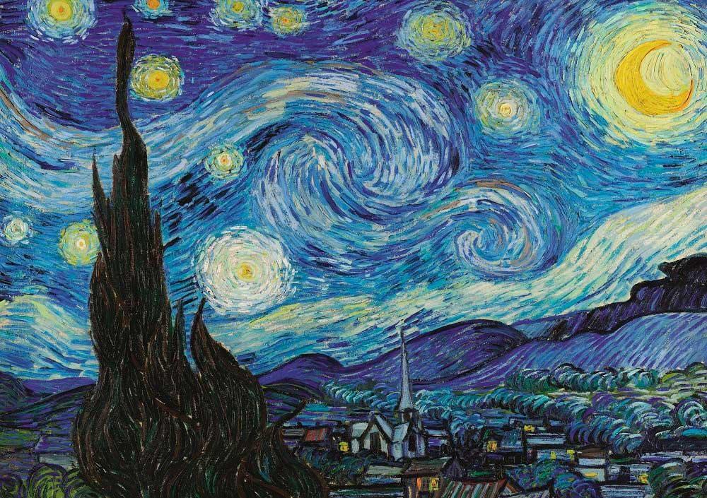 Puzzle Art Puzzle La Noche Estrellada de 1000 Piezas