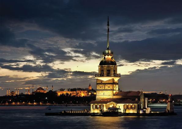 Puzzle Art Puzzle La Torre de la Doncella, Turquía de 1000 Pieza