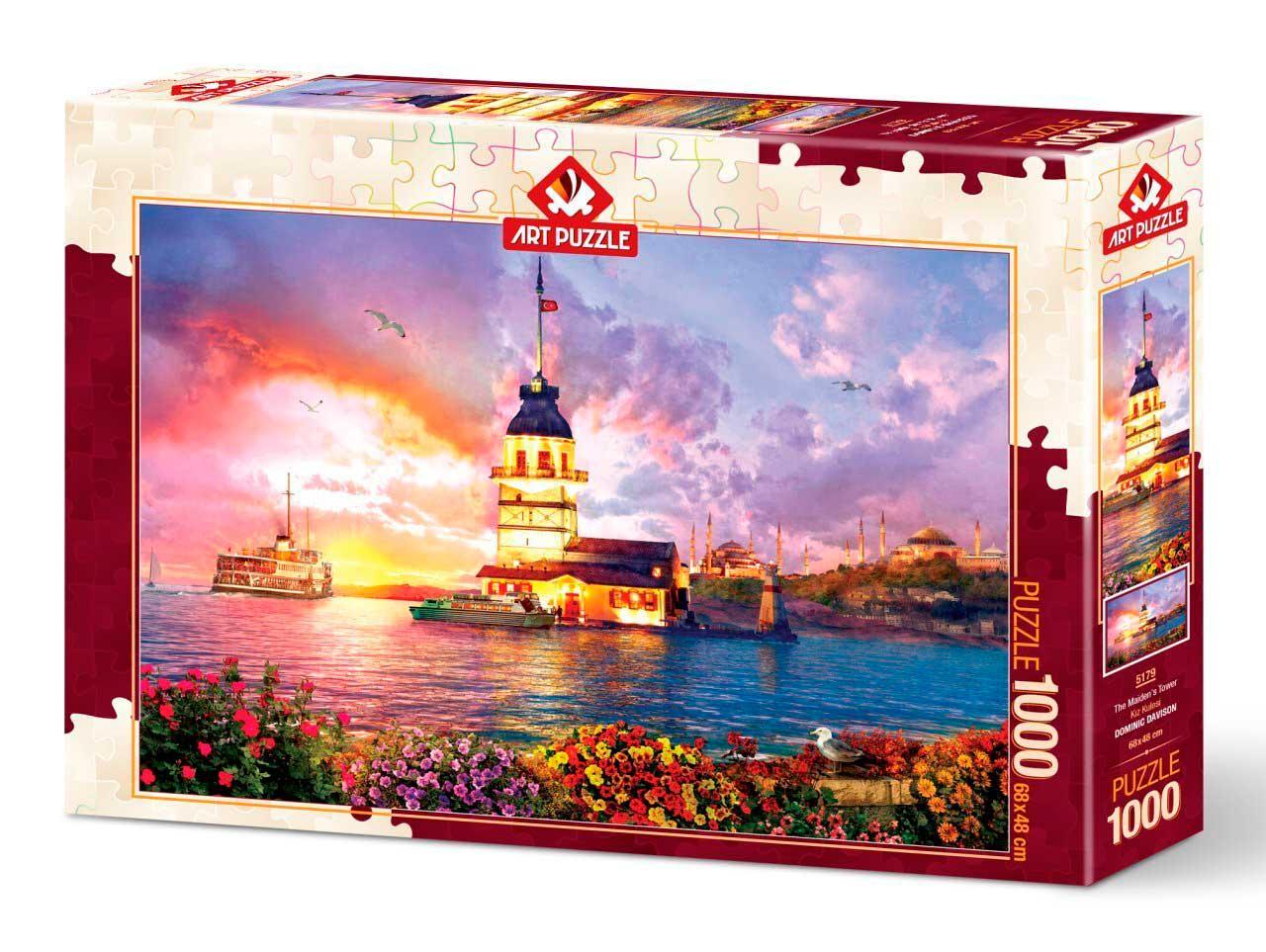 Puzzle Art Puzzle La Torre de Maiden de 1000 Piezas