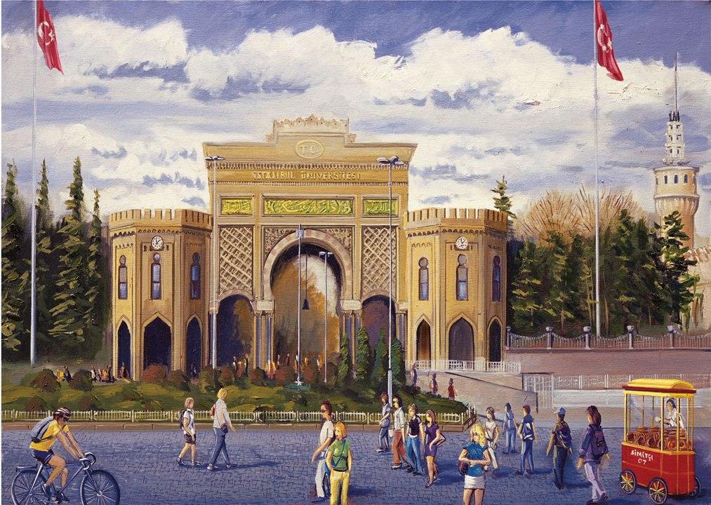 Puzzle Art Puzzle La Universidad de Estambul de 1000 Piezas